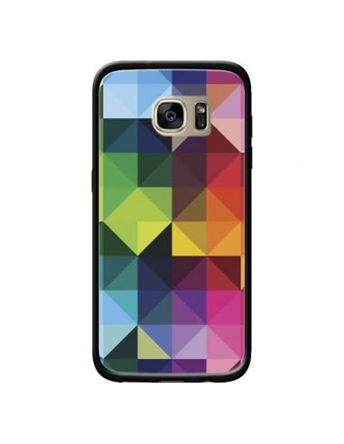 Coque Polygone pour Samsung Galaxy S7 Edge - Nico