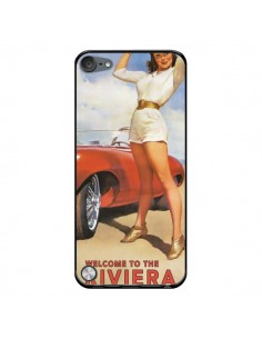 Coque Welcome to the Riviera Vintage Pin Up pour iPod Touch 5/6 et 7 - Nico