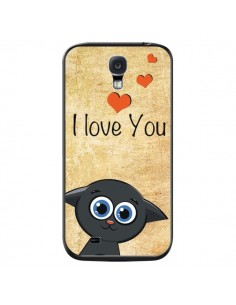 Coque Cute Cat pour Samsung Galaxy S4 - Nico