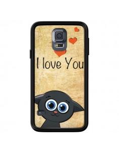 Coque Cute Cat pour Samsung Galaxy S5 - Nico