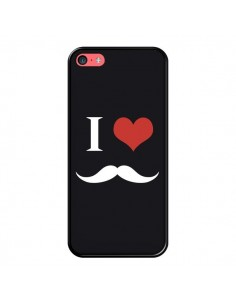 Coque I Love Moustache pour iPhone 5C - Nico