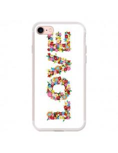 Coque iPhone 7/8 et SE 2020 Love Fleurs - Nico