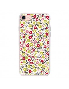Coque iPhone 7/8 et SE 2020 Liberty Fleurs - Nico