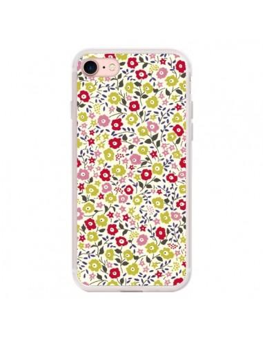 coque iphone 7 8 se 2020 liberty fleurs nico