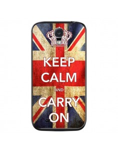 Coque Keep Calm and Carry On pour Samsung Galaxy S4 - Nico