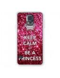 Coque Keep Calm and Be A Princess pour Samsung Galaxy S5 - Nico