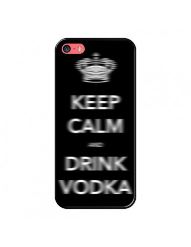 Coque iPhone 5C Keep Calm and Drink Vodka - Nico