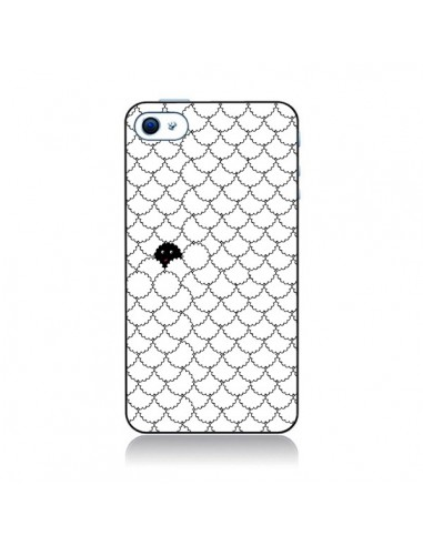 Coque Mouton Noir pour iPhone 4 et 4S - Danny Ivan