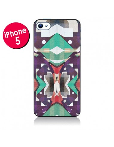 Coque Cisca Azteque pour iPhone 5 - Danny Ivan