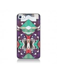 Coque Cisca Azteque pour iPhone 4 et 4S - Danny Ivan