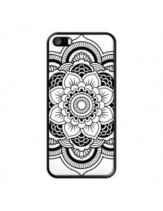 Coque Mandala Noir Azteque pour iPhone 5/5S et SE - Nico