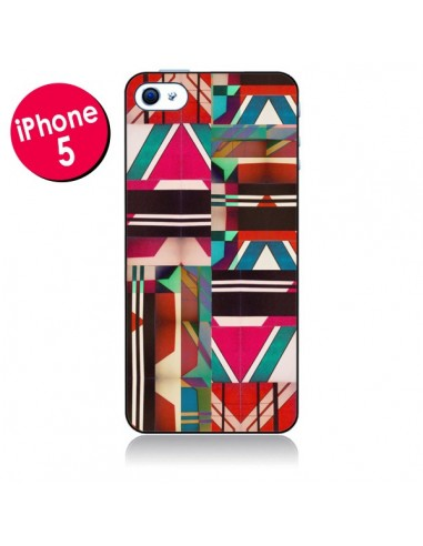 Coque Fel Azteque pour iPhone 5 - Danny Ivan