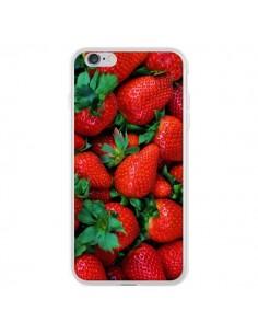 Coque Fraise Strawberry Fruit pour iPhone 6 Plus et 6S Plus - Laetitia