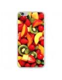 Coque Fruit Kiwi Fraise pour iPhone 6 Plus et 6S Plus - Laetitia