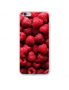 Coque iPhone 6 Plus et 6S Plus Framboises Raspberry Fruit - Laetitia
