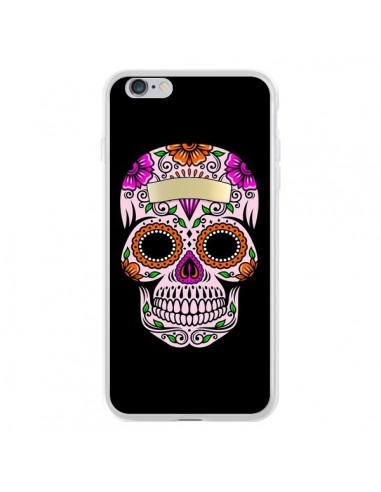 Coque iPhone 6 Plus et 6S Plus Tête de Mort Mexicaine Multicolore - Laetitia