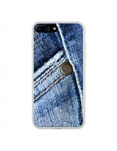 Coque iPhone 7 Plus et 8 Plus Jean Vintage - Laetitia