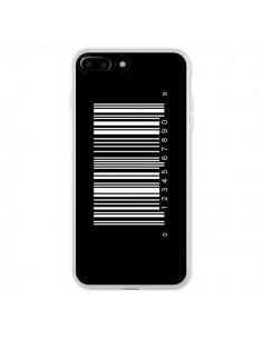 Coque Code Barres Blanc pour iPhone 7 Plus et 8 Plus - Laetitia