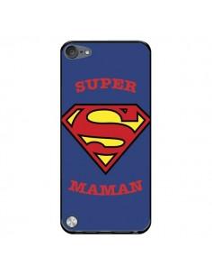 Coque Super Maman Superman pour iPod Touch 5/6 et 7 - Laetitia