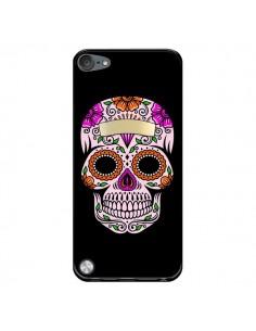 Coque Tête de Mort Mexicaine Multicolore pour iPod Touch 5/6 et 7 - Laetitia