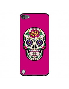 Coque Tête de Mort Mexicaine Rose Fushia pour iPod Touch 5/6 et 7 - Laetitia