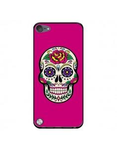 Coque Tête de Mort Mexicaine Rose Fushia pour iPod Touch 5 - Laetitia