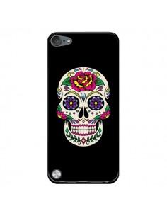 Coque Tête de Mort Mexicaine Multicolore Noir pour iPod Touch 5 - Laetitia
