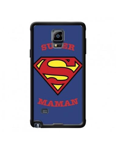 Coque Super Maman Superman pour Samsung Galaxy Note 4 - Laetitia