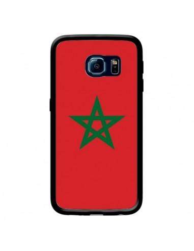Coque Drapeau Maroc Marocain pour Samsung Galaxy S6 Edge - Laetitia
