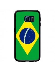 Coque Drapeau Brésil Brésilien pour Samsung Galaxy S6 Edge - Laetitia