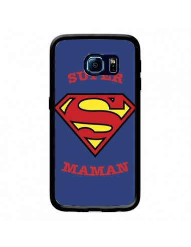 Coque Super Maman Superman pour Samsung Galaxy S6 Edge - Laetitia