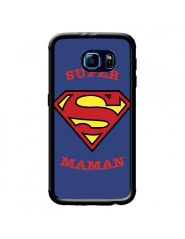 Coque Super Maman Superman pour Samsung Galaxy S6 - Laetitia
