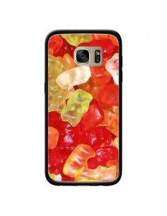 Coque Bonbon Ourson Multicolore Candy pour Samsung Galaxy S7 Edge - Laetitia