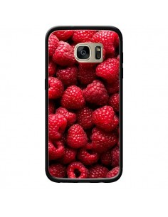 Coque Framboises Raspberry Fruit pour Samsung Galaxy S7 Edge - Laetitia