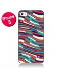 Coque Respect Lines Azteque pour iPhone 5 - Danny Ivan