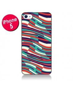 Coque Respect Lines Azteque pour iPhone 5 - Danny Ivan