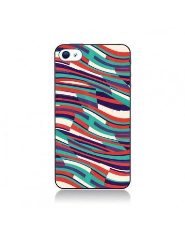 Coque Respect Lines Azteque pour iPhone 4 et 4S - Danny Ivan