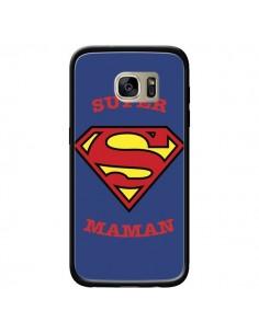 Coque Super Maman Superman pour Samsung Galaxy S7 Edge - Laetitia