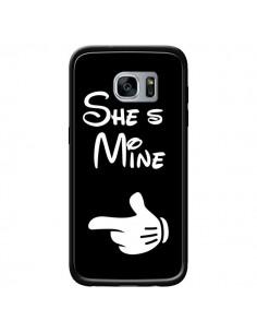Coque She's Mine Elle est à Moi Amour Amoureux pour Samsung Galaxy S7 - Laetitia