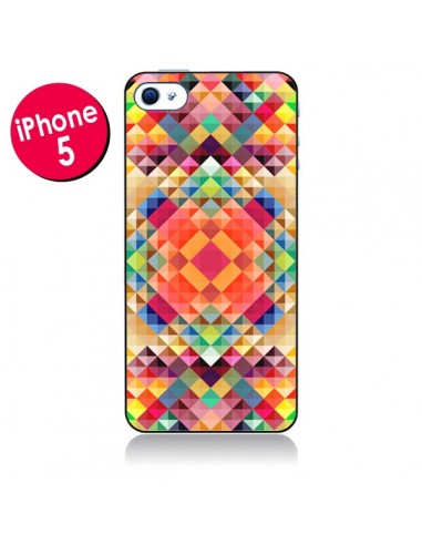 Coque Sweet Color Azteque pour iPhone 5 - Danny Ivan
