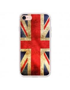 Coque iPhone 7/8 et SE 2020 Drapeau Angleterre Anglais UK - Laetitia