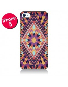 Coque Ticky Ticky Azteque pour iPhone 5 - Danny Ivan