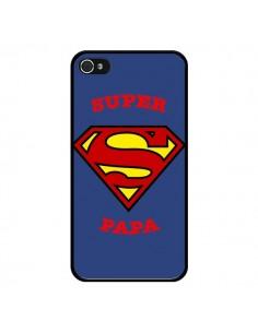 Coque Super Papa Superman pour iPhone 4 et 4S - Laetitia