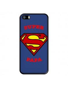 Coque Super Papa Superman pour iPhone 5/5S et SE - Laetitia