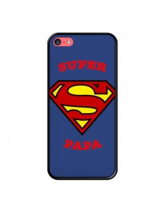 Coque Super Papa Superman pour iPhone 5C - Laetitia