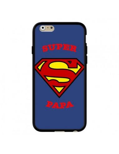 coque iphone 6 et 6s super papa superman laetitia