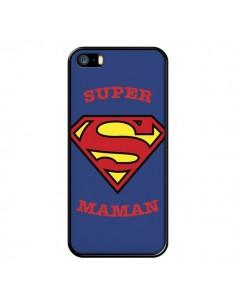 Coque Super Maman Superman pour iPhone 5/5S et SE - Laetitia