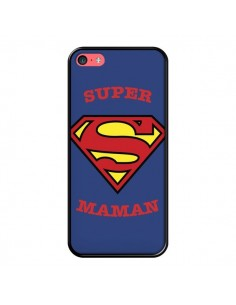 Coque Super Maman Superman pour iPhone 5C - Laetitia
