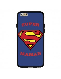 Coque Super Maman Superman pour iPhone 6 et 6S - Laetitia