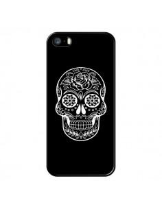 Coque Tête de Mort Mexicaine Blanche pour iPhone 5/5S et SE - Laetitia